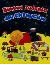 Zimowe zadania dla chłopców - Wiśniewska Anna, Wiśniewski Krzysztof | mała okładka