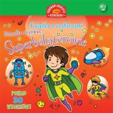 Superbohaterowie Książka z szablonami -  | mała okładka