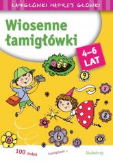 Wiosenne łamigłówki Łamigłówki madrej główki - Tamara Michałowska | mała okładka