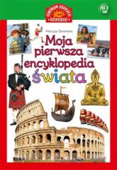 Moja pierwsza encyklopedia świata - Patrycja Zarawska | mała okładka