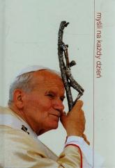 Myśli na każdy dzień - Jan Paweł II | mała okładka