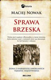 Sprawa brzeska - Maciej Nowak | mała okładka
