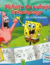 SpongeBob Plakaty do kolorowania -  | mała okładka