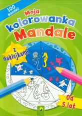 Moja kolorowanka z naklejkami Mandale -  | mała okładka