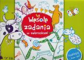 Wesołe zadania ze zwierzakami Naklejaj i baw się - Anna Wiśniewska   mała okładka