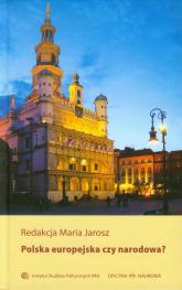 Polska europejska czy narodowa -  | mała okładka