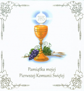 Pamiątka mojej Pierwszej Komunii Świętej Książka w etui -  | mała okładka