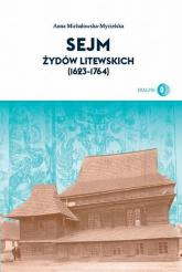 Sejm Żydów litewskich (1623-1764) - Regina Gromacka | mała okładka