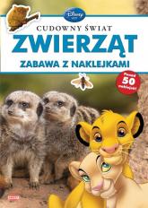 Disney Uczy Cudowny świat zwierząt Zabawa z naklejkami -    mała okładka