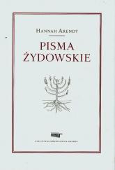 Pisma żydowskie - Hannah Arendt | mała okładka