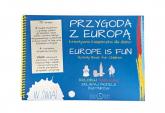 Przygoda z Europą kreatywna książeczka dla dzieci - Paulina Płachecka | mała okładka