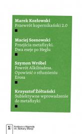 Cztery eseje metafizyczne - Kozłowski Marek, Sosnowski Maciej, Wróbel Szymon, Żółtański Krzysztof | mała okładka