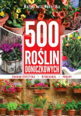 500 roślin doniczkowych - Małgorzata Mederska | mała okładka