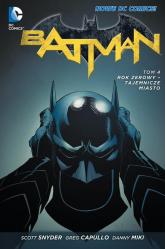 Batman Tom 4 Rok zerowy Tajemnicze miasto - Scott Snyder   mała okładka