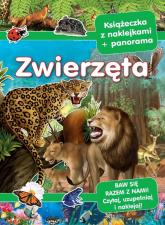 Zwierzęta Panoramy z naklejkami -  | mała okładka
