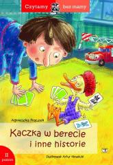 Kaczka w berecie (2 etap czytania) - Agnieszka Frączek | mała okładka