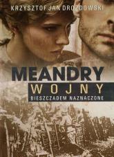 Meandry wojny Bieszczadem naznaczone - Drozdowski Krzysztof Jan | mała okładka