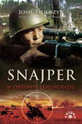 Snajper w obronie Leningradu - Piljuszyn Josif, Anisimow Siergiej | mała okładka