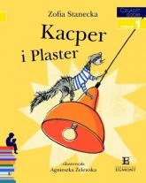 Kacper i Plaster Poziom 1 - Zofia Stanecka | mała okładka