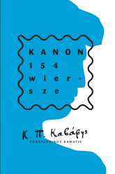 Kanon. 154 wiersze - Kawafis Konstandinos | mała okładka