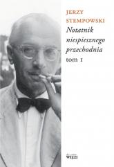 Notatnik niespiesznego przechodnia - Jerzy Stempowski   mała okładka