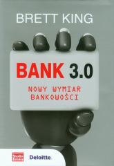 Bank 3.0 Nowy wymiar bankowości - Brett King | mała okładka