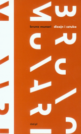 Dizajn i sztuka - Bruno Munari   mała okładka