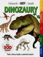 Dinozaury Ciekawostki fakty zagadki - zbiorowa praca | mała okładka