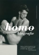 Homobiografie - Krzysztof Tomasik | mała okładka