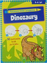 Nauka rysowaninia Dinozaury -  | mała okładka
