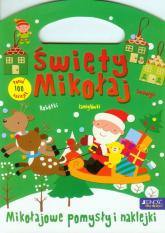 Święty Mikołaj Mikołajowe pomysły i naklejki -  | mała okładka