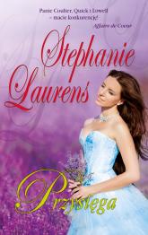 Przysięga - Stephanie Laurens | mała okładka