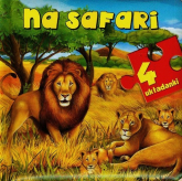 Na safari 4 układanki - Anna Wiśniewska   mała okładka
