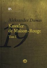 Kawaler de Maison-Rouge Tom 1 + CD - Aleksander Dumas | mała okładka