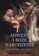 Adwent i Boże Narodzenie + szopka - Legutko Beata, Wielek Marta | mała okładka