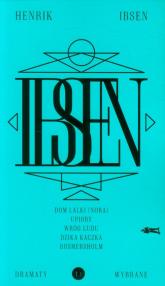 Dramaty wybrane Tom 1 - Henrik Ibsen | mała okładka