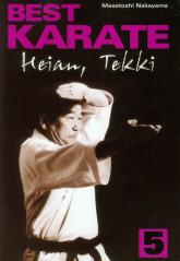 Best karate 5 Heian, Tekki - Masatoshi Nakayama | mała okładka