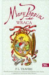 Mary Poppins wraca - Travers Pamela L.   mała okładka