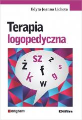 Terapia logopedyczna - Lichota Edyta Joanna | mała okładka