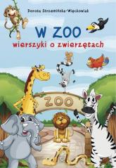 W zoo wierszyki o zwierzętach - Dorota Strzemińska-Więckowiak   mała okładka
