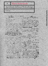 Agezylausz Juliusza Słowackiego Glosy - Maria Kalinowska | mała okładka