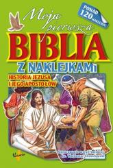 Moja pierwsza Biblia z naklejkami Historia Jezusa i jego apostołów -  | mała okładka
