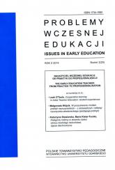 Problemy wczesnej edukacji Nr 2  2014 rok Rok X 2014 Nr 2 (25) -  | mała okładka