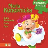 Maria Konopnicka Wierszykowo z puzzlami - Maria Konopnicka | mała okładka