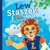 Lew Staszek i siła uważności - Agnieszka Pawłowska   mała okładka
