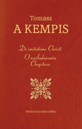 De imitatione Christi O naśladowaniu Chrystusa - Tomasz Kempis | mała okładka