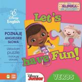 Let's have Fun Verbs z puzzlami Klinika dla pluszaków -  | mała okładka