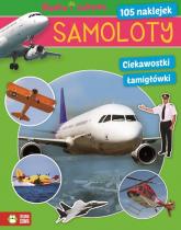 Samoloty Nauka i zabawa - zbiorowa praca | mała okładka
