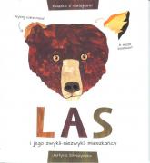 Las i jego zwykli-niezwykli mieszkańcy Książka z naklejkami - Justyna Styszyńska   mała okładka
