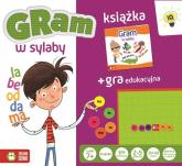 Gra w sylaby książka + gra edukacyjna - zbiorowa praca | mała okładka
